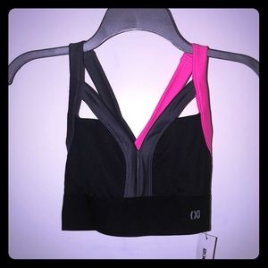 Medium Impact Sweetheart Neckline Sports Bra